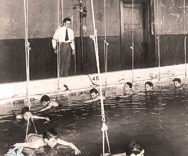 تاریخچه آموزش شنا | شناآموز