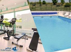 باشگاه ورزشی یا شنا ؟ کدام برای کاهش وزن و سلامتی مفید تر است ؟ | شناآموز