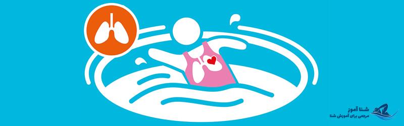 فواید شنا برای دستگاه تنفسی | شناآموز